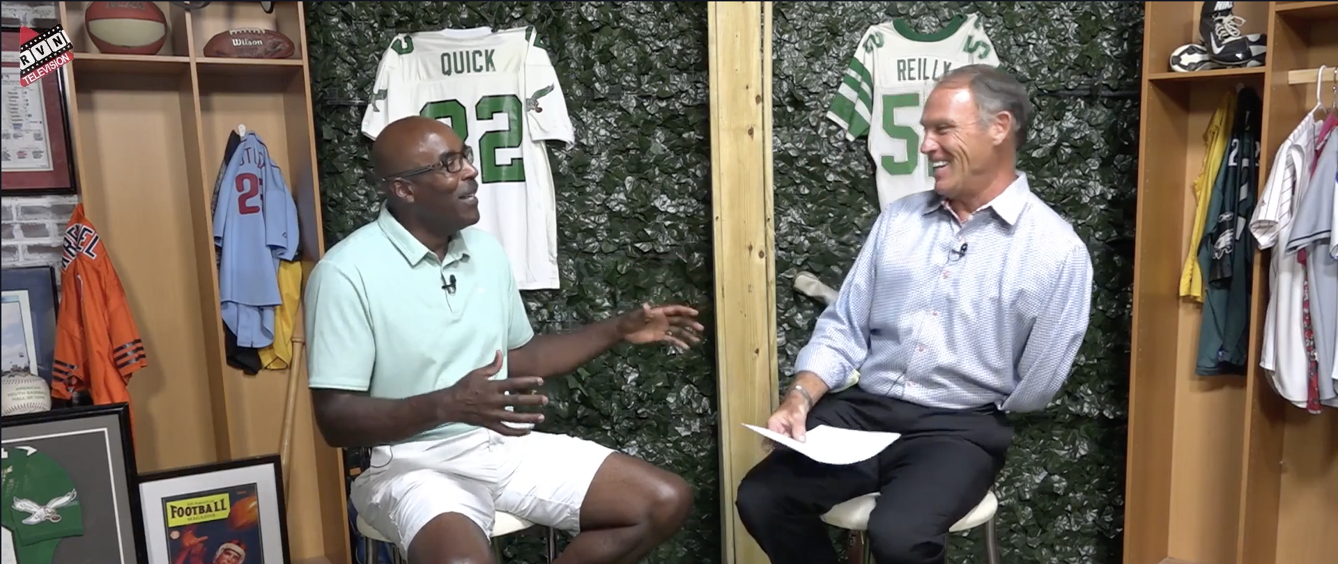 Mike Quick and Kevin Reilly on Behind The Lines